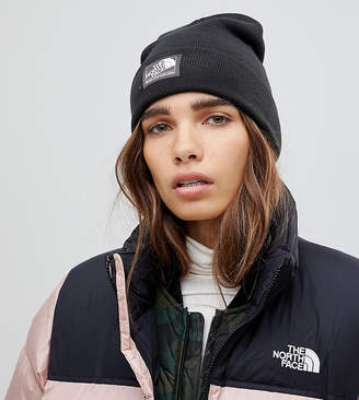 The North Face Dock Worker Beanie Hat in Black