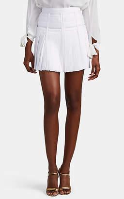 GIOVANNIBEDIN Women's GM Pleated Miniskirt - White