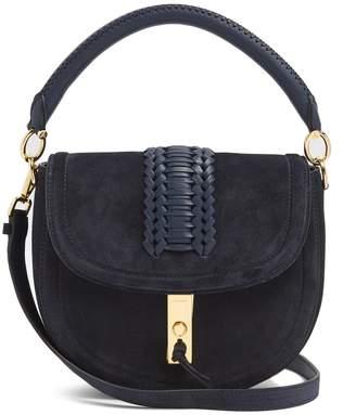 Altuzarra Ghianda braided-leather suede shoulder bag