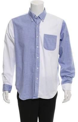 Mark McNairy New Amsterdam Colorblock Woven Shirt