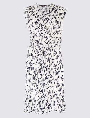 Marks and Spencer Printed Wrap Dress