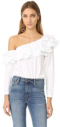 Petersyn Dahlia Top $335 thestylecure.com