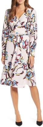 Halogen Wrap Dress