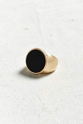 Urban Outfitters Round Onyx Ring