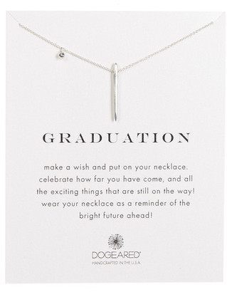 Dogeared Sterling Silver Graduation Spikey Spear Necklace $62 thestylecure.com