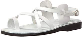 Jerusalem Sandals Men's The Good Shepard Buckle Toe Ring Sandal