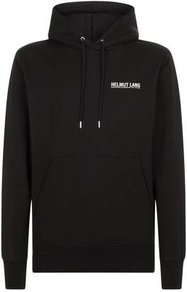 Helmut Lang Logo Hooded Sweater