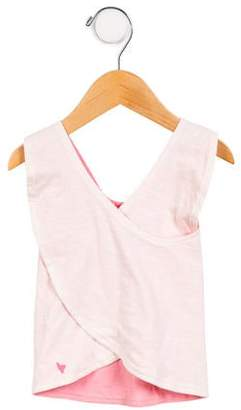 Pink Chicken Girls' Reversible Iggy Top w/ Tags