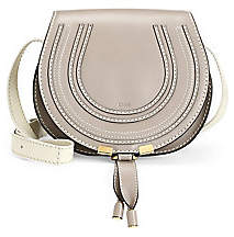 Chloé Women's Mini Marcie Leather Saddle Bag