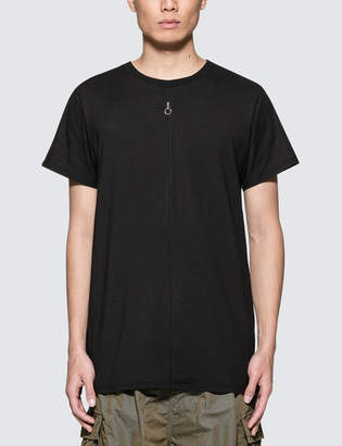 Alyx S/S Jersey T-Shirt with Invisible Zipper