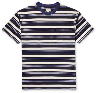 Bellerose Sawaka Striped Cotton-Jersey T-Shirt