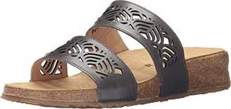 Haflinger Women's TS Grace Graphite Flat Sandal