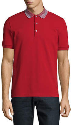 Missoni Short Sleeve Cotton Polo