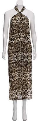 A.L.C. Silk Halter Maxi Dress