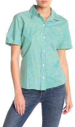 Current\u002FElliott The Telly Tie Back Shirt