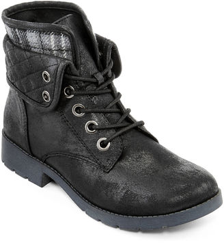 ARIZONA Arizona Yvonne Womens Quilted Lace-Up Ankle Boots $29.99 thestylecure.com