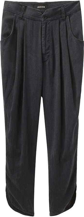 Zucca Tapered Pleated Pant