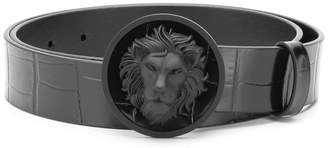 Versus lion head buckle belt
