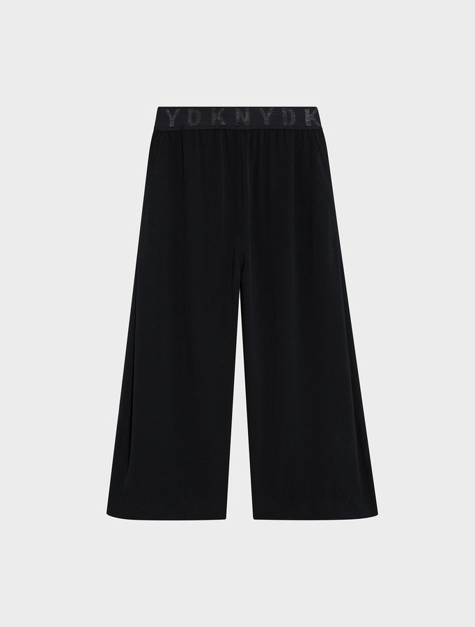 DKNYDkny Pure Logo Waistband Pull On Crop Pant
