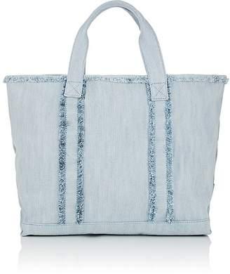 Barneys New York Women's Fringed Denim Tote Bag