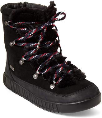 Pajar Canada Black Pamona Faux Fur Boots