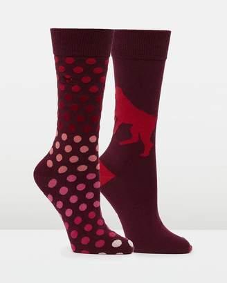 Findlay Road Two Pack Socks