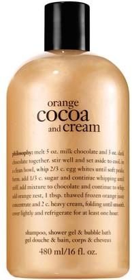 philosophy 3-in-1 shampoo, shower gel, and bubble bath, 16 oz