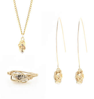 Kat&Bee Three Month Gold Skull Jewellery Subscription