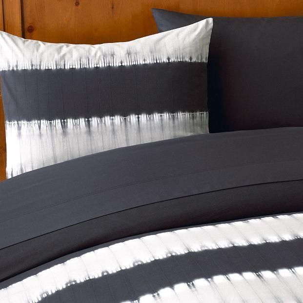 Stripe Tie-Dye Duvet Cover & Sham