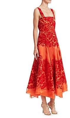 Rosie Assoulin Women's A-Line Silk Cocktail Dress