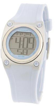 Dunlop (ダンロップ) - dun118l04 Watch Dunlop Women 's Baronessステンレススチールケース,ゴム製ストラップ,デジタルダイヤル,Quartz Movement,耐スクラッチ性ミネラル,防水を最大5 ATM – 50メートル – 165フィート