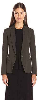 Theory Women's Robiva Admiral Crepe Jacket