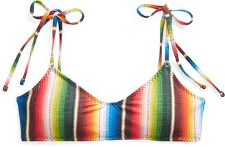 Ralph Lauren Fixed-Tie Bikini Top