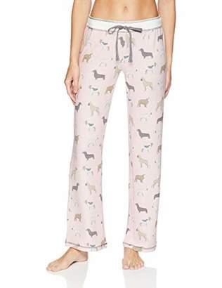 PJ Salvage Women's Sleepwear Pajama Pant White Band