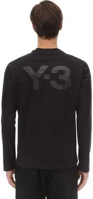 Y-3 Y 3 Classic L/s Cotton Jersey T-shirt