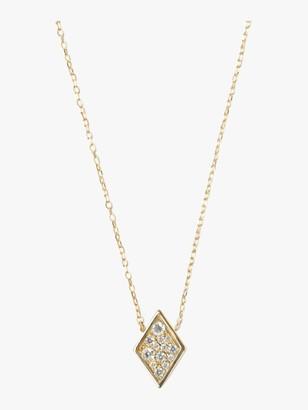Anzie Cleo Diamond Shaped Necklace