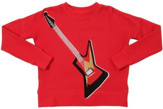 Zadig & Voltaire Guitar Embroidered Cotton Sweatshirt