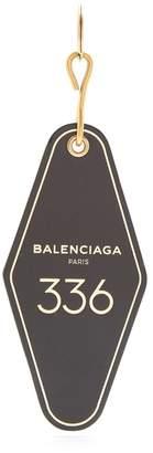 Balenciaga Hotel Diamond key ring