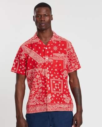 Polo Ralph Lauren Bandana Print Vacation Short Sleeve Shirt