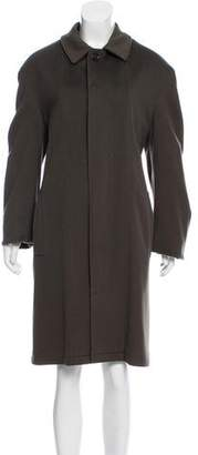 Burberry Structured Wool Coat