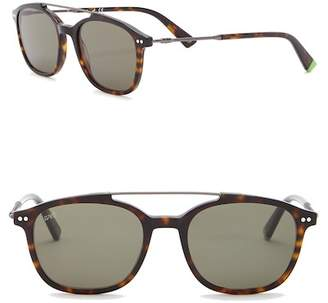 Web WE0186 Aviator 51mm Acetate Metal Sunglasses