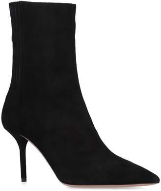 Aquazzura Saint Honore Ankle Boots 85
