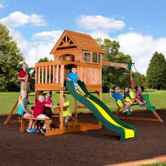 Backyard Discovery Springboro All Cedar Swing Set