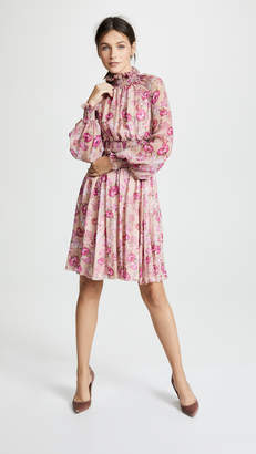 Giambattista Valli Ruffle Trim Dress