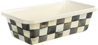 Mackenzie Childs MacKenzie-Childs - Courtly Check Enamel Loaf Pan