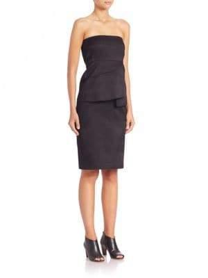 Zero Maria Cornejo Lykke Strapless Dress