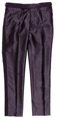 Thom Browne Silk Jacquard Pants