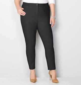 Avenue 5 Pocket Skinny Pant in Black