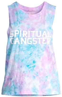 Spiritual Gangster Tie-Dye Logo Tank Top