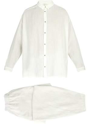 ONCE MILANO X Toogood linen pyjama set